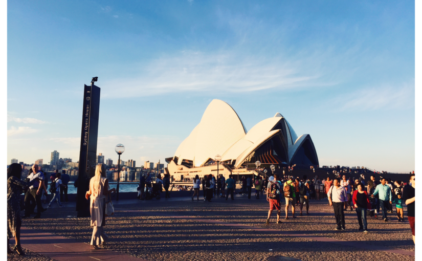 Sydney e i suoi colori.
